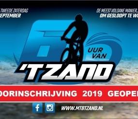 5e MTB Race 6 uur van 't Zand 2019